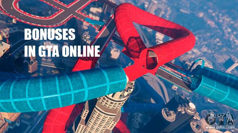 Bonuses in GTA Online