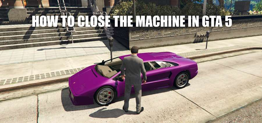 How to lock the car in GTA 5