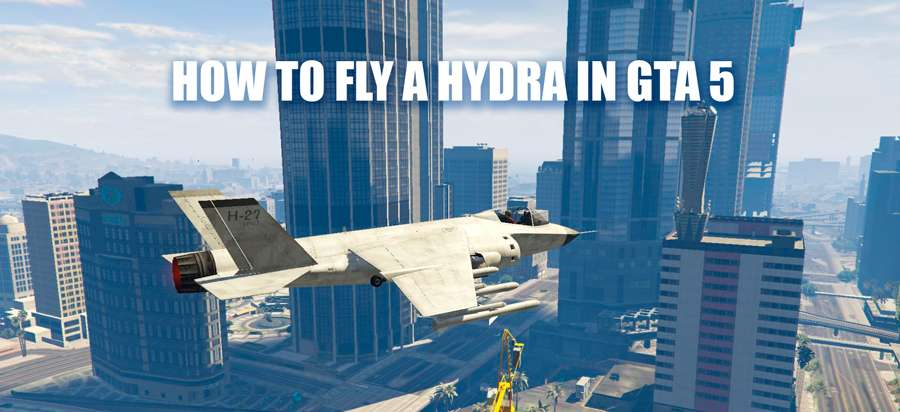 How to fly the Hydra in GTA 5