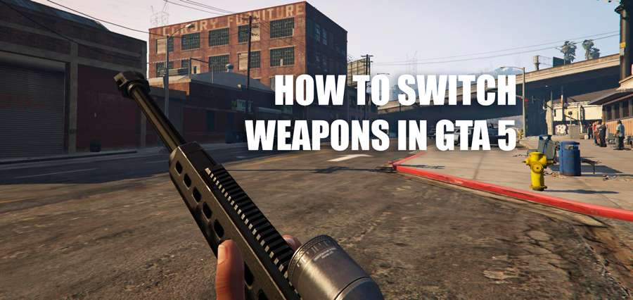 How to change weapons in GTA 5