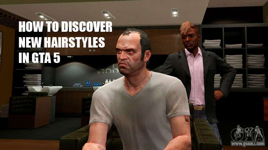 How to open a new hairstyles in GTA 5