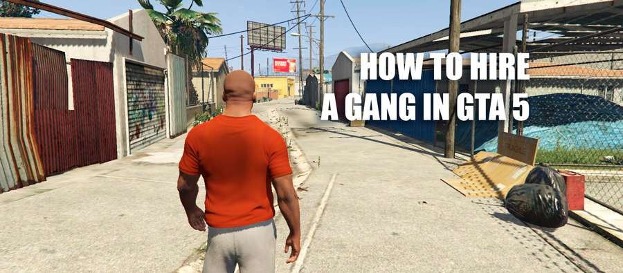How to hire a gang in GTA 5