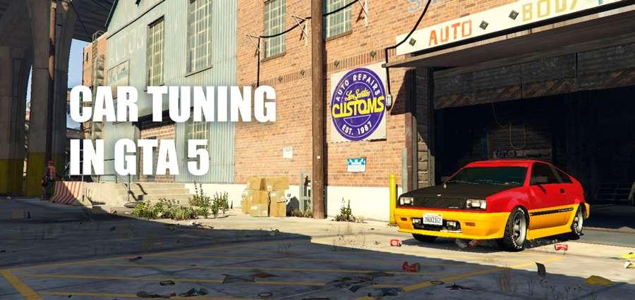 Tuning in GTA 5