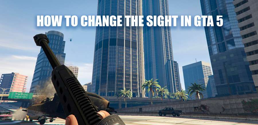How to change crosshair in GTA 5