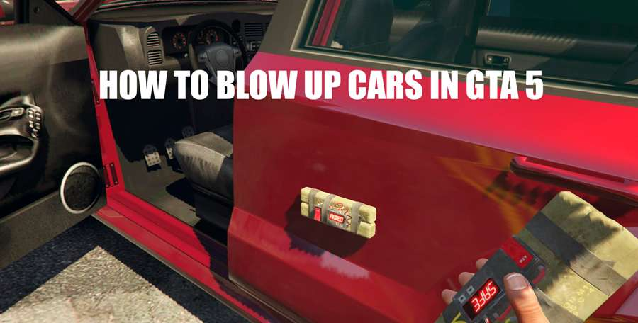 How to blow up a car in GTA 5