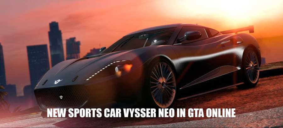 The new sports car in GTA Online