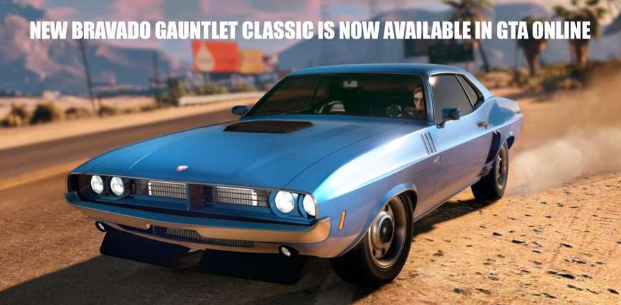New Bravado Gauntlet Classic in GTA Online