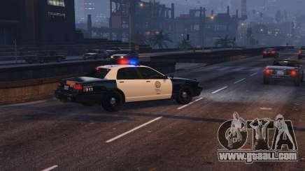 How to tune a police car in GTA 5