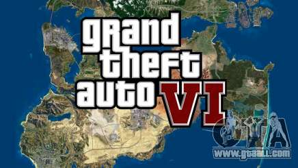 GTA 6 had a huge map of the new world