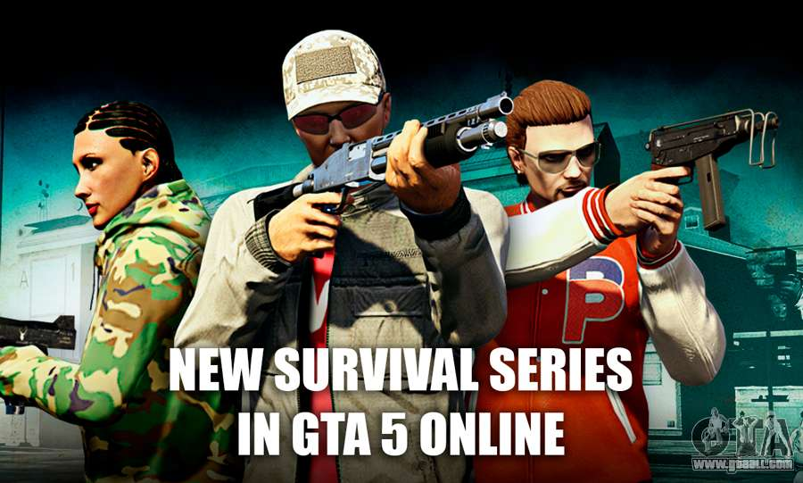 New survival modes in GTA 5