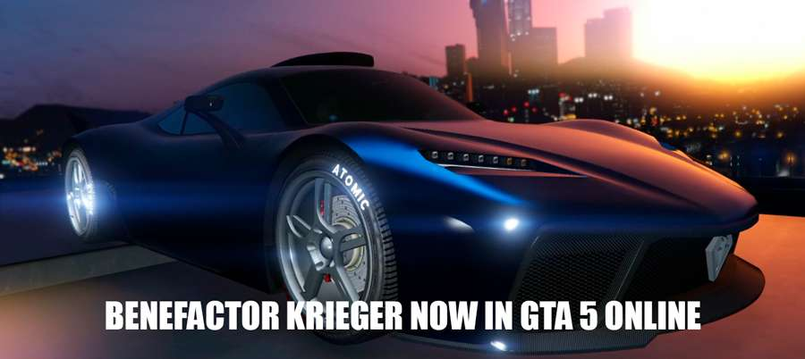 Update Benefactor Krieger in GTA 5