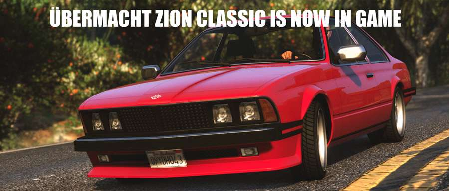 Übermacht Zion Classic in GTA 5