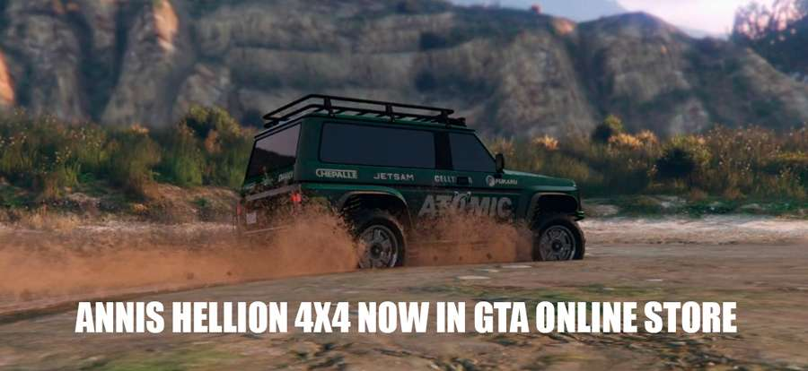 Annis Hellion in GTA 5 Online