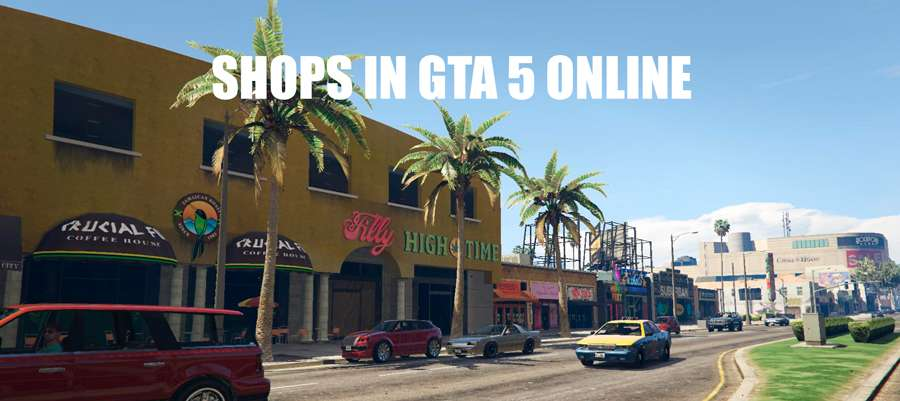 Stores in GTA 5