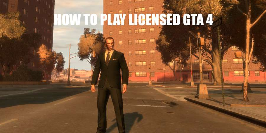 How to play license GTA 4