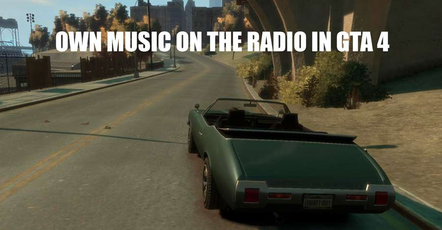 Own music in GTA 4