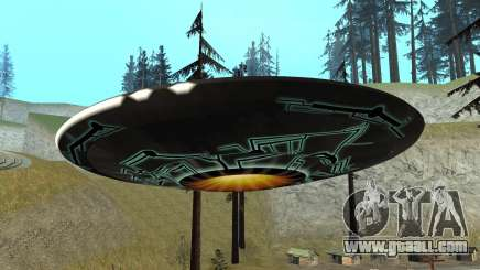 How to find UFO in GTA San Andreas