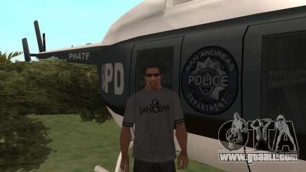 Where to find a police helicopter in GTA San Andreas