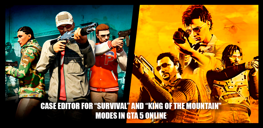 Editor modes in GTA 5 Online