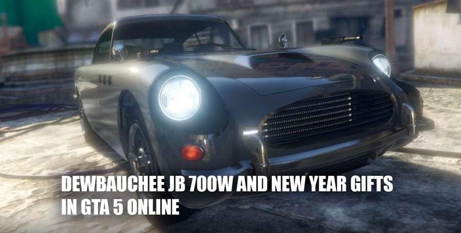 Dewbauchee JB 700W appeared in GTA 5