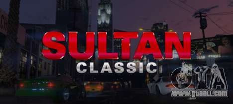 Karin Sultan Classic in GTA 5