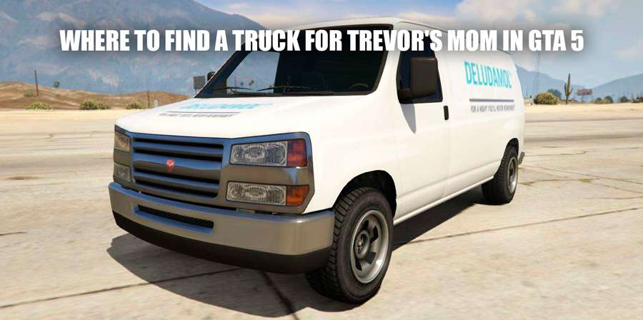 Truck for Trevor's mom GTA 5