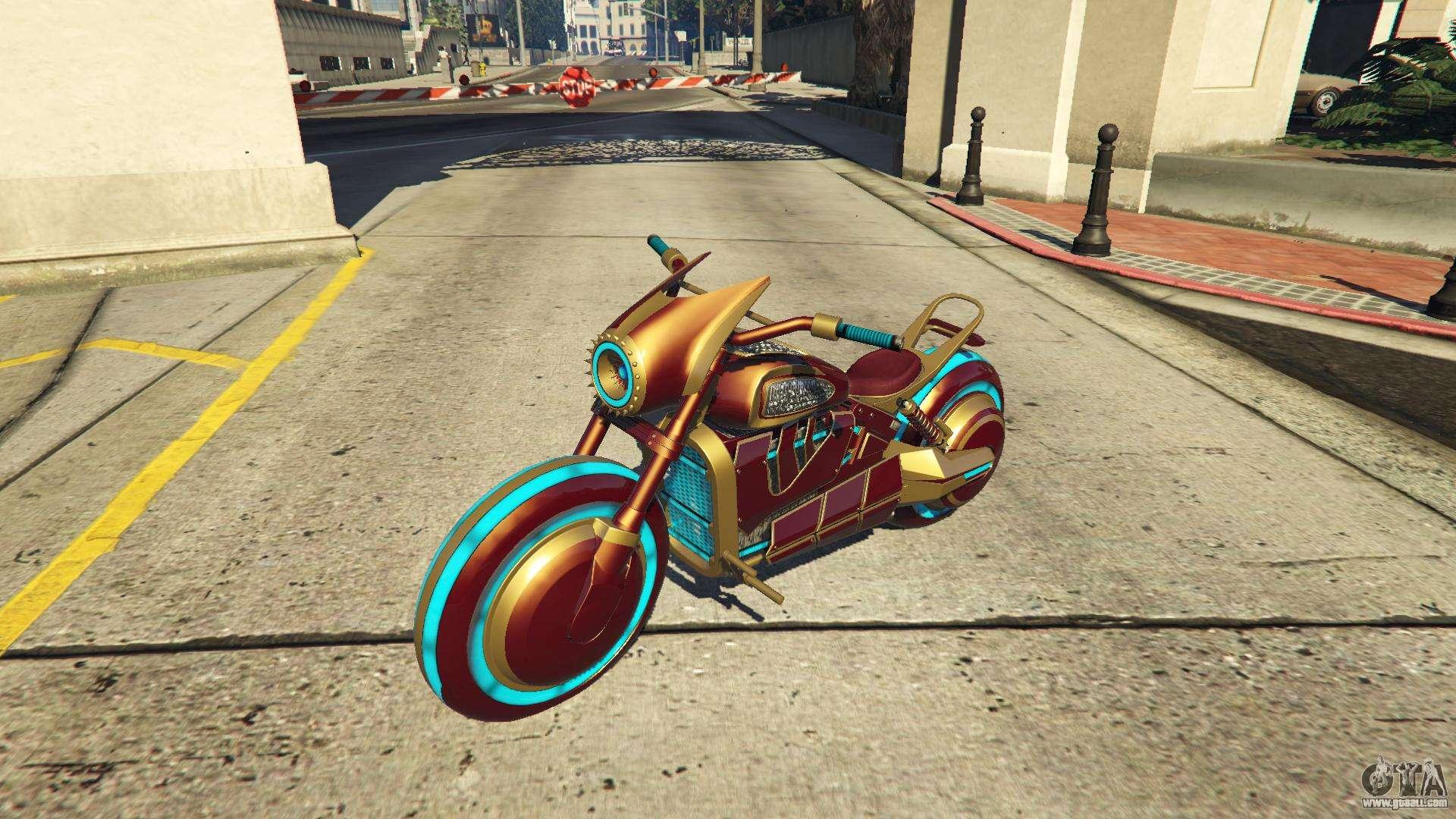 Future Shock bike, the variant of the Deathbike