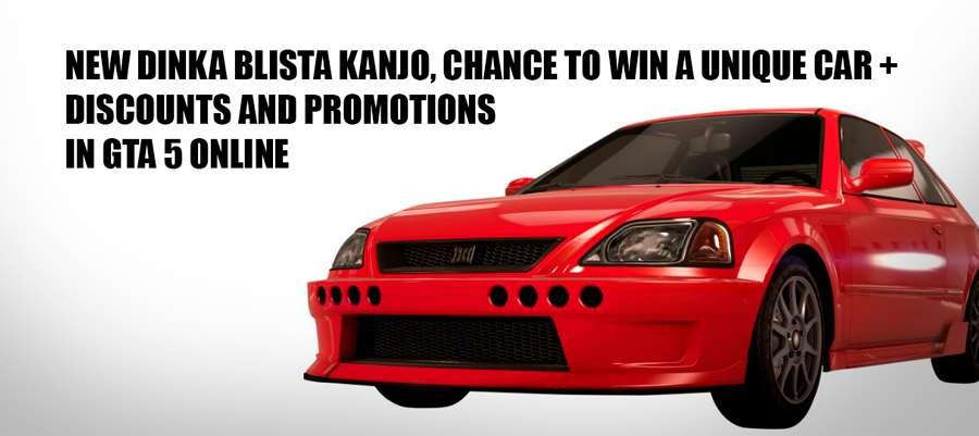 Dinka Blista Kanjo Compact GTA 5