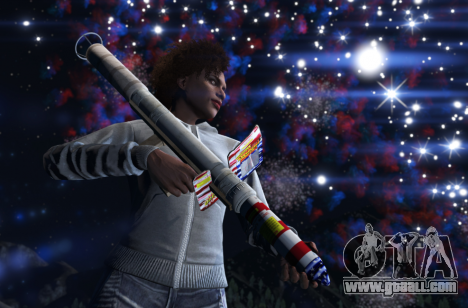Free fireworks in GTA 5