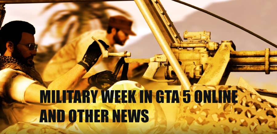 Military week in GTA 5