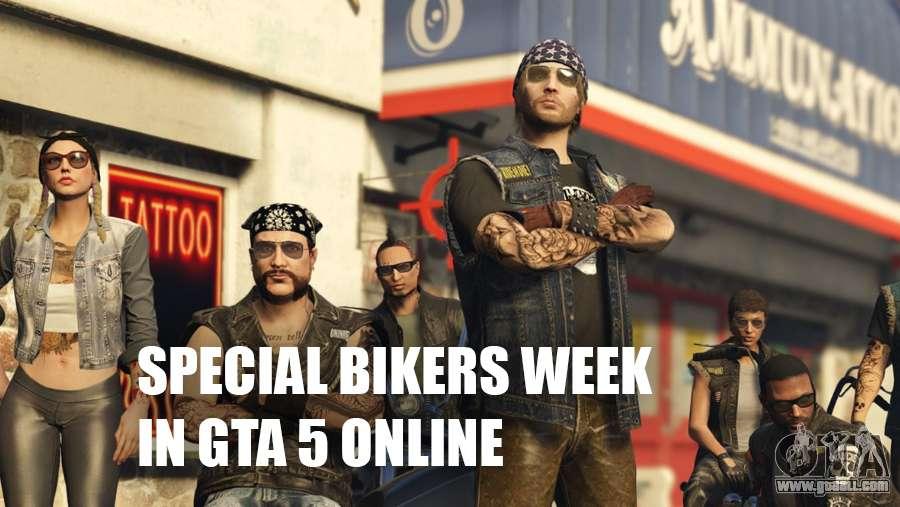 Special bikers week in GTA 5
