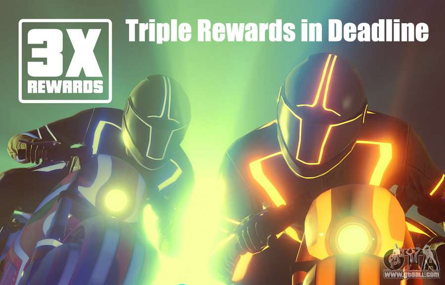 Triple Rewards in Deadline