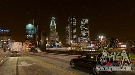 Сity View in GTA 5