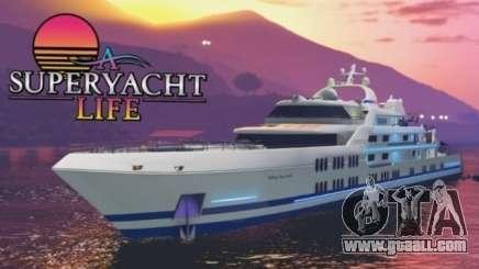 Super yacht in RDR Online