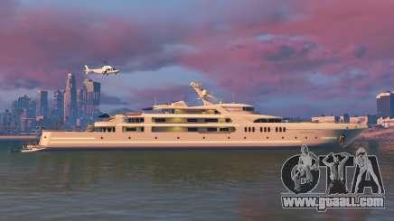 Galaxy super yacht