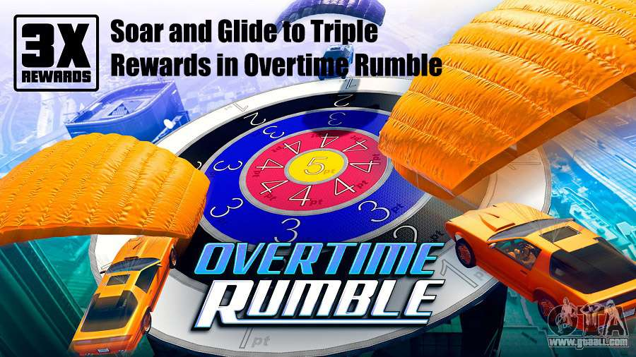 Soar and Glide to Triple Rewards in Overtime Rumble