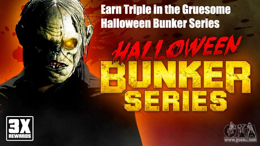 Earn Triple in the Gruesome Halloween Series