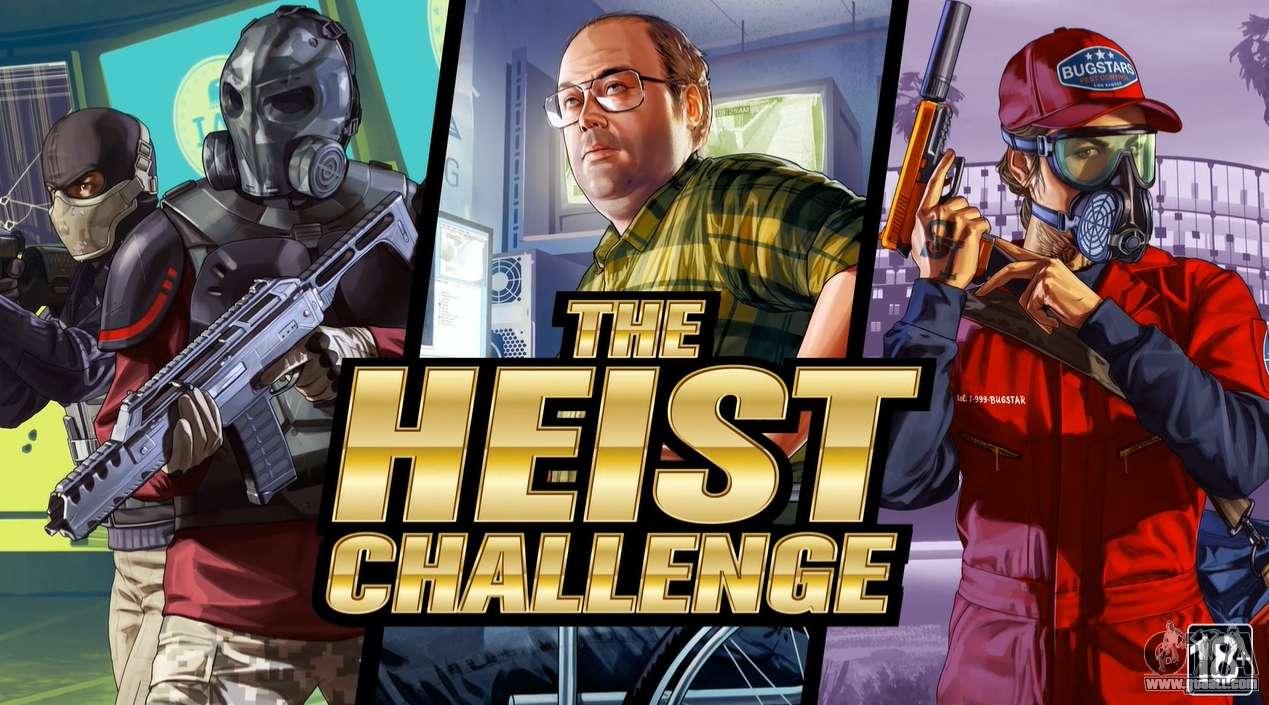 The Heist Challenge in GTA Online