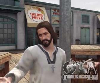 парень похожий на Иисуса GTA 5