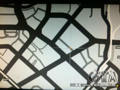 l'emplacement de l'hélicoptère dans GTA 5