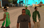 A gang in GTA San-Andreas: how to hire
