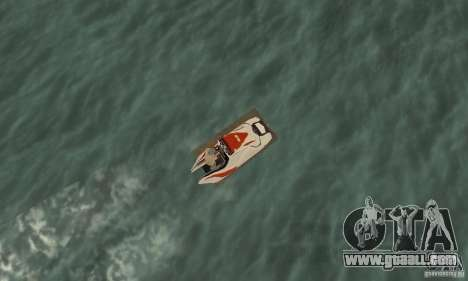 Hydrocycle for GTA San Andreas right view