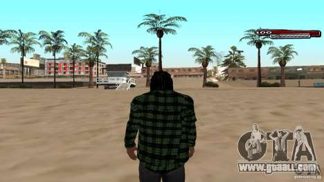New skin Grove HD for GTA San Andreas second screenshot