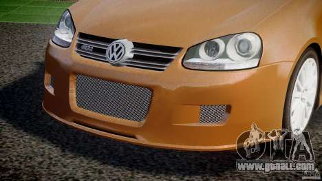 Volkswagen Golf R32 v2.0 for GTA 4 upper view