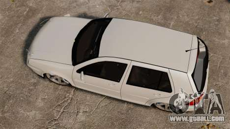 Volkswagen Golf Flash Edit for GTA 4 right view