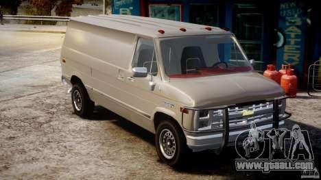 Chevrolet G20 Vans V1.1 for GTA 4 right view