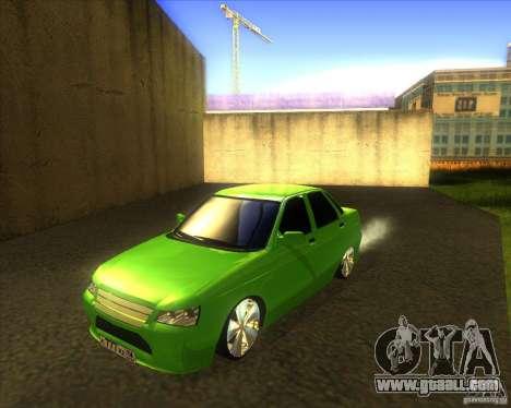 LADA priora car tuning for GTA San Andreas