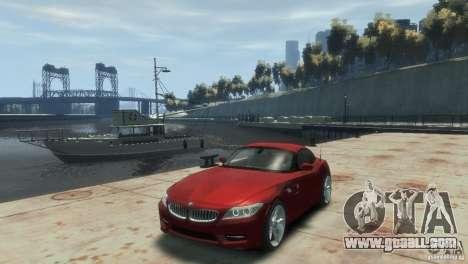 BMW Z4 for GTA 4