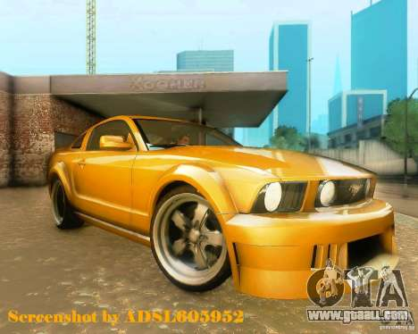 Ford Mustang GT 2005 Tunable for GTA San Andreas left view