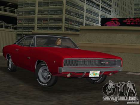 Dodge Charger 426 R/T 1968 v1.0 for GTA Vice City